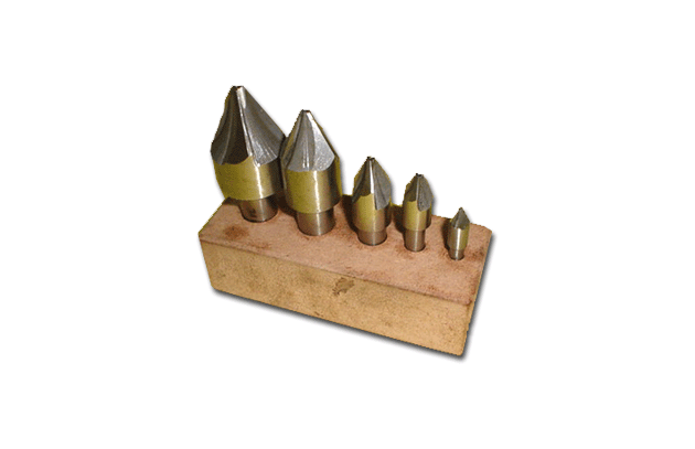 Six Flute Machine Countersinks